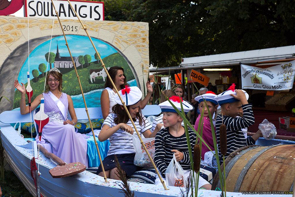 Pour la commune de Soulangis, le thème cette année, ça sera la marine.