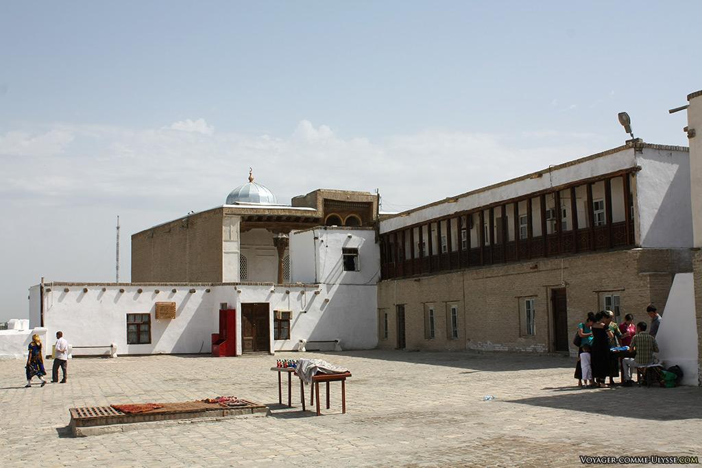 Cour intérieure. Ark est aujourd'hui un musée.