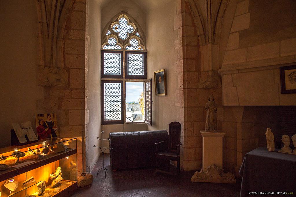 Salle des anges du donjon.
