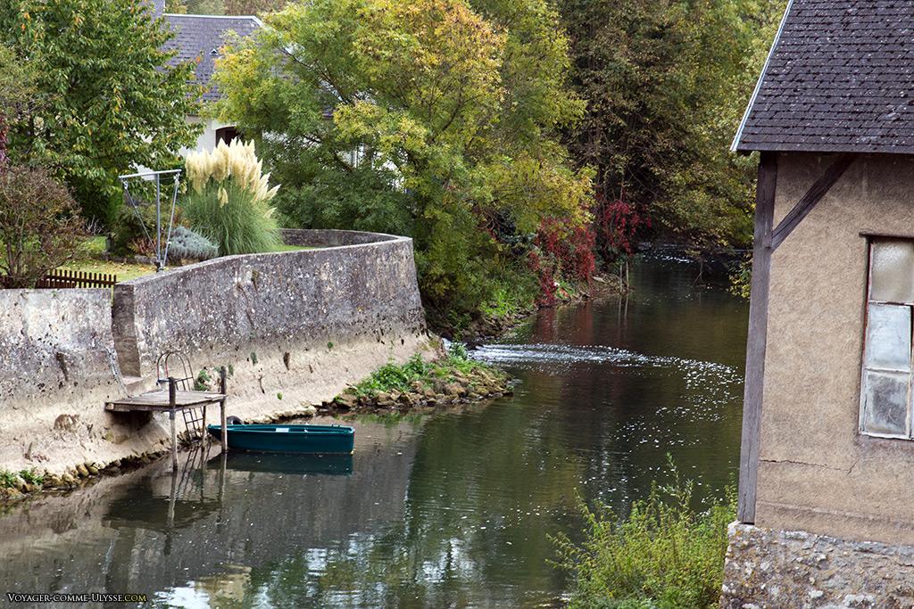 Quoi de plus sympa que de faire un tour dans sa petite barque dans les Jardins?