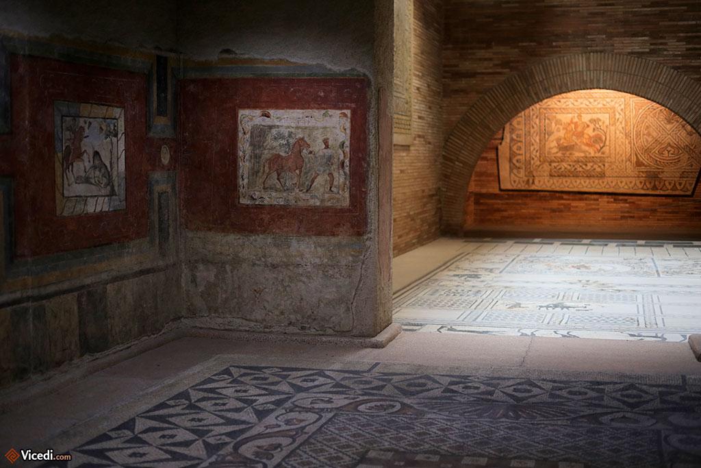 On ne le répétera pas assez : le musée met en valeur ses collections. L'espace dédié aux mosaïques est phénoménal.