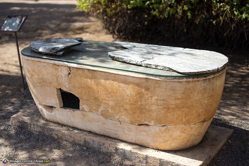 Sarcophage romain.