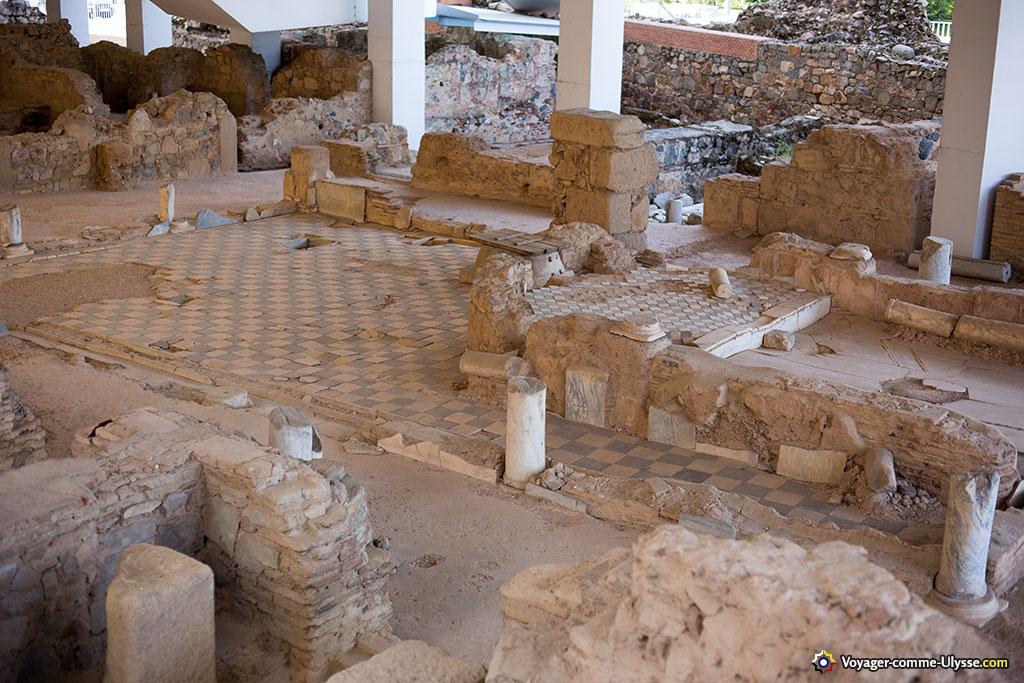 Maison des marbres, une demeure de la fin du IIIème siècle.