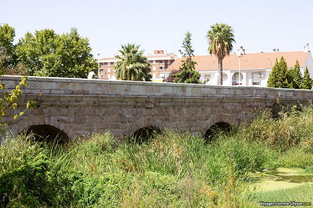 Pont sur l'Albarregas