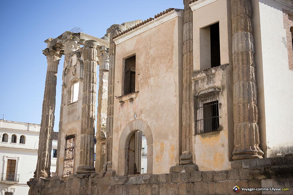 Pour ma part, je ne trouve pas le palais bien intégré au temple...