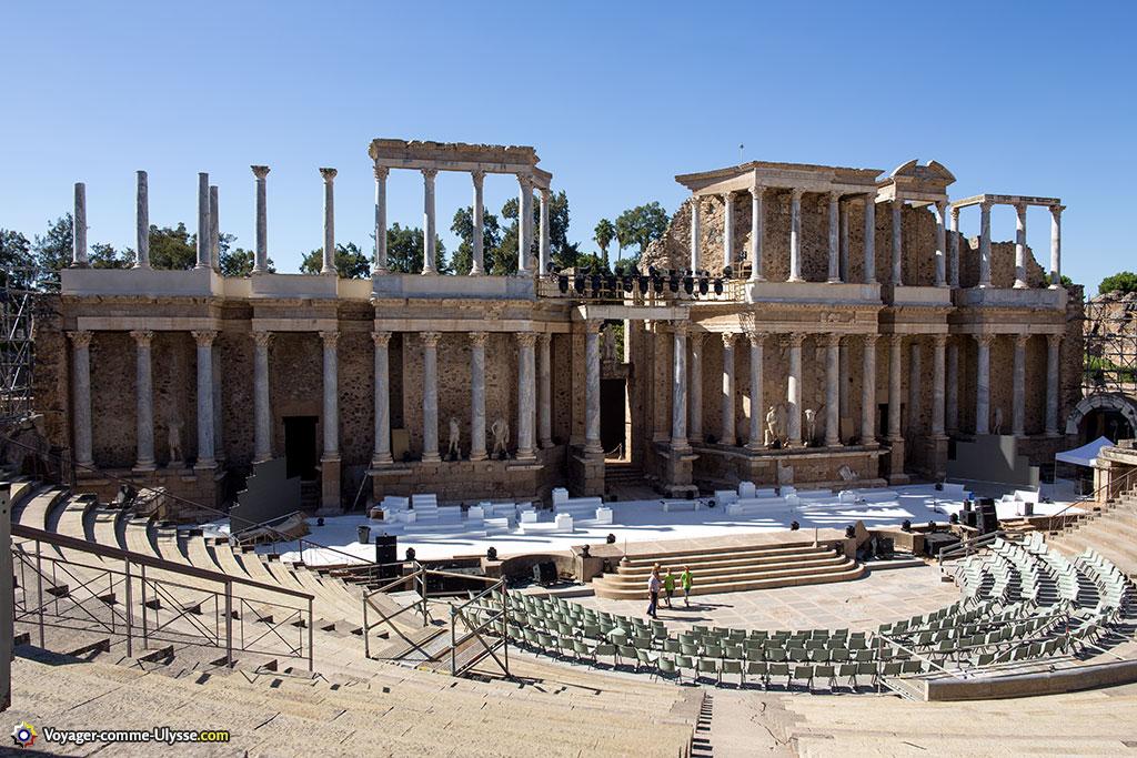 Théâtre romain de Mérida.