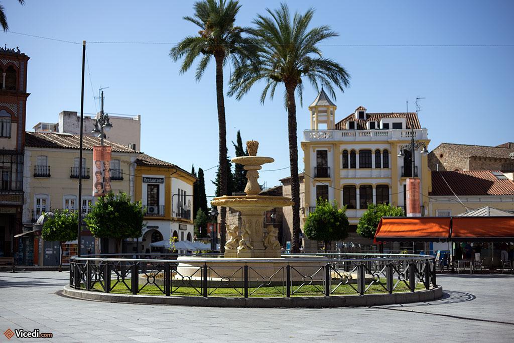 Fontaine de la place d'Espagne.