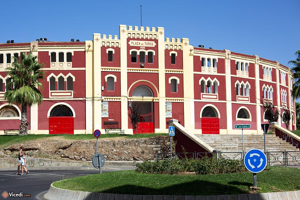 Les arènes de Mérida, la Plaza de Toros