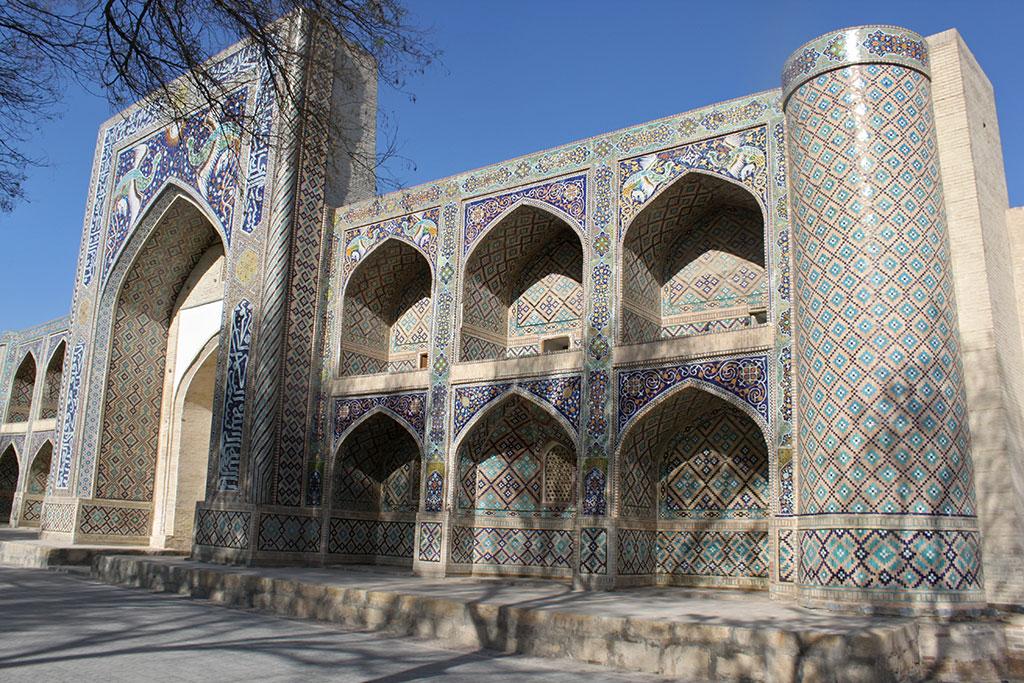 Façade de la madrasa Divan-Beghi
