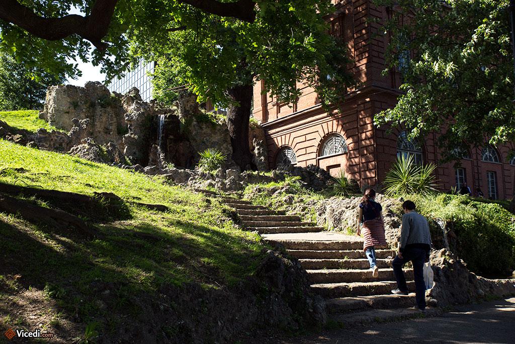 Promenade aux alentours du Castello del Valentino