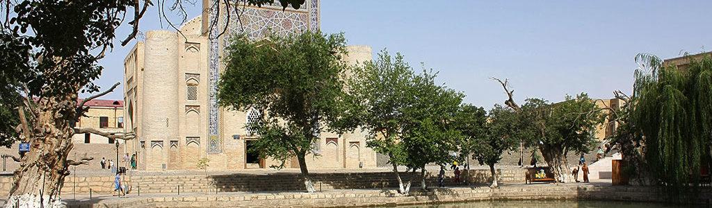 Liab-i-Haouz, « au bord du bassin » à Boukhara