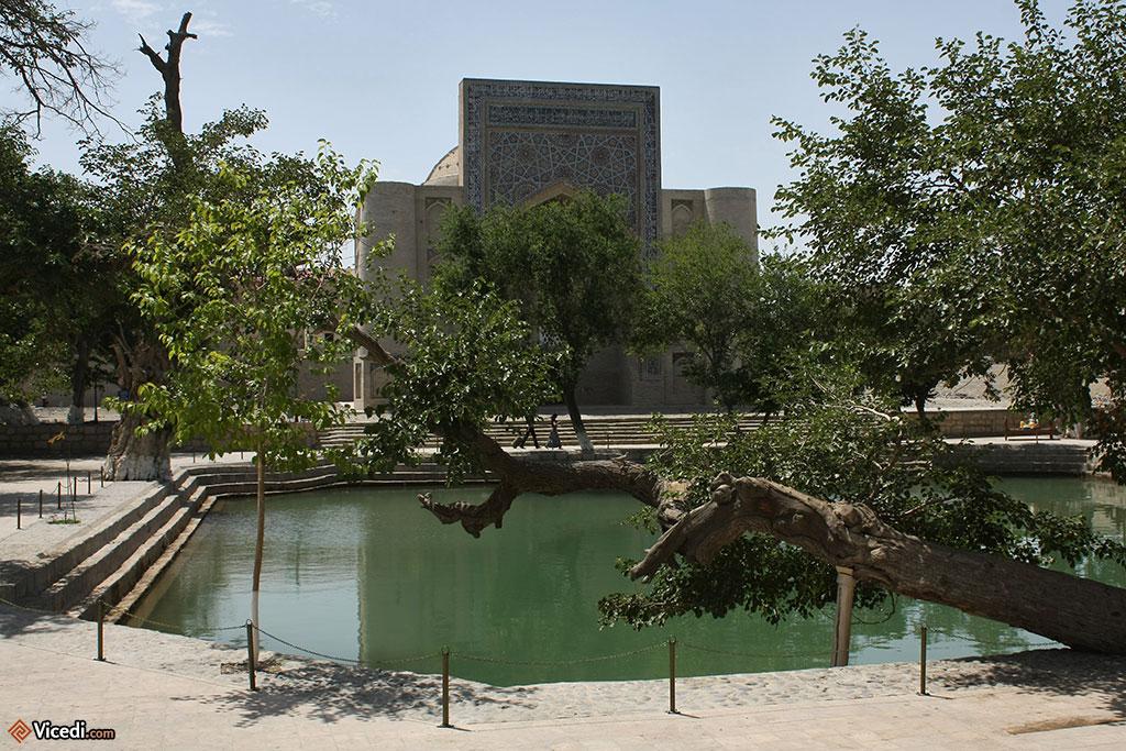 Le bassin, face au khanqah