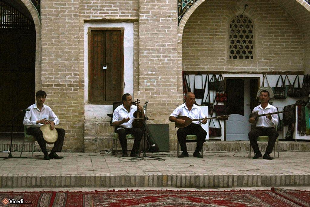 Musiciens ouzbeks