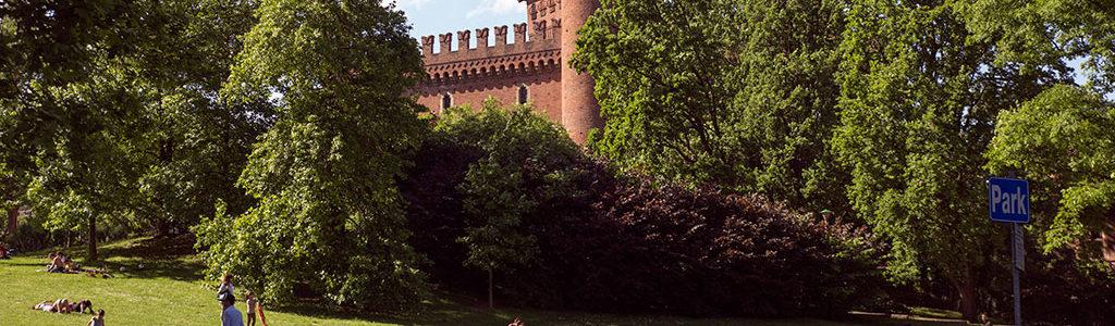 Parc du Valentino, espace vert de Turin