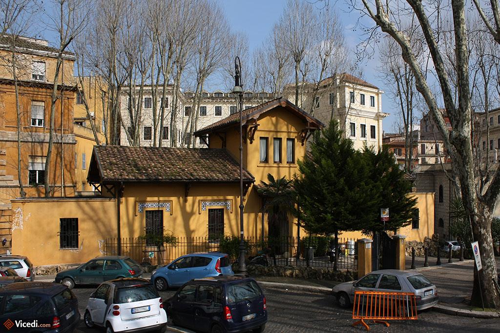 Belle résidence de la passeggiata di ripetta, non loin de l'Ara Pacis.