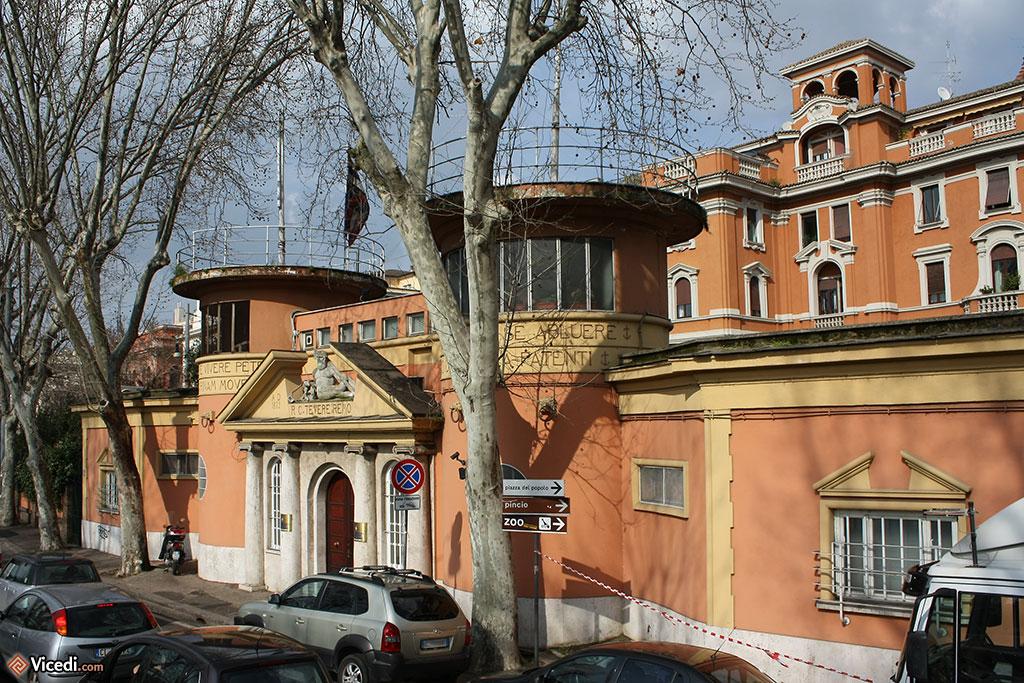 Le club d'aviron de Rome, le Reale Circolo Canottieri Tevere Remo