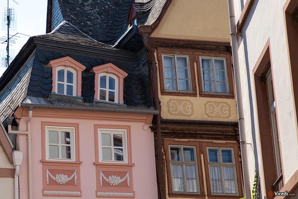 Il n'y a plus beaucoup d'anciens bâtiments à Mayence, mais quand il y en a, elles sont incroyables.