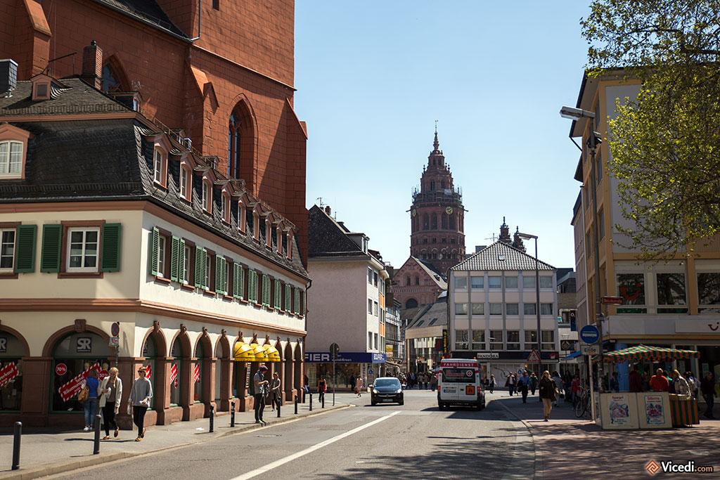 Mayence, Histoire et tourisme