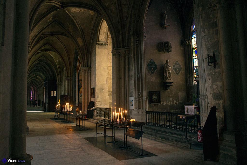 Chapelles coté sud