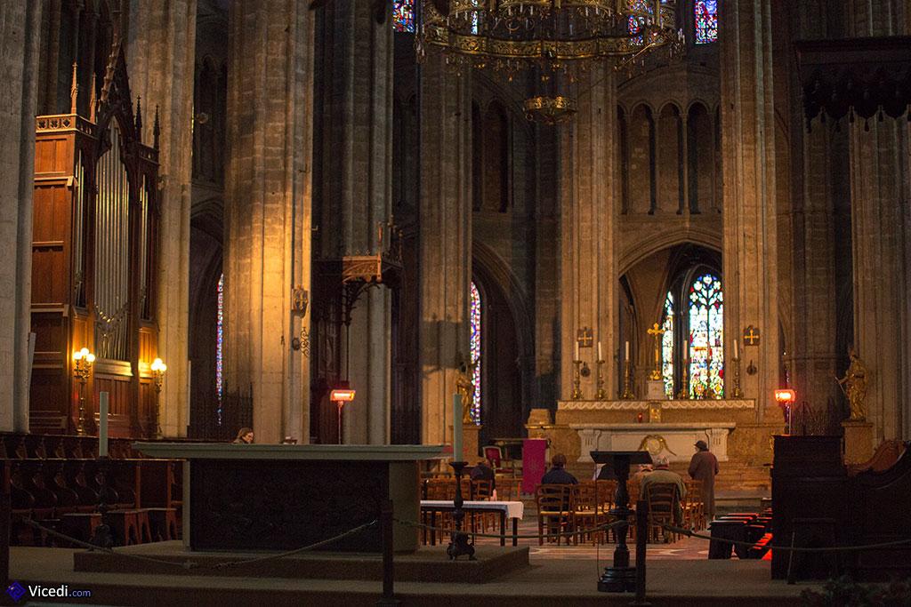 Choeur de la cathédrale, vue d'ensemble