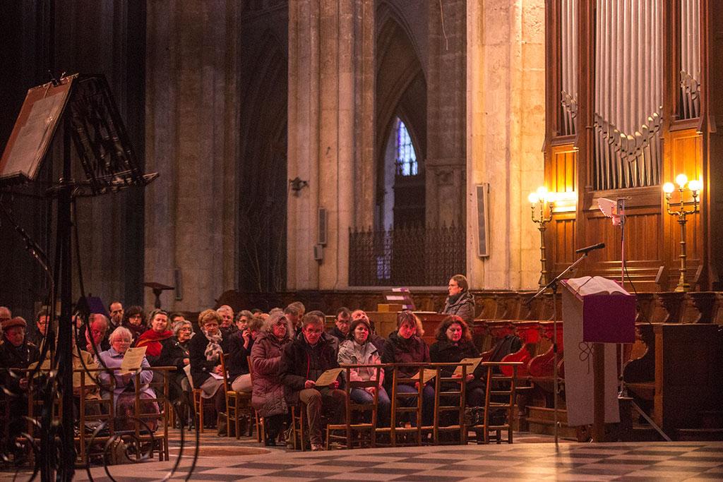 Choristes de la cathédrale de Bourges