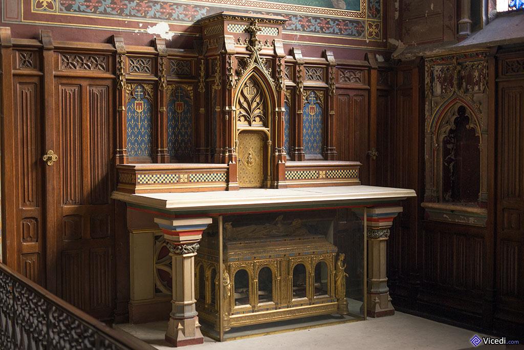 Autel de la Chapelle Sainte Solange
