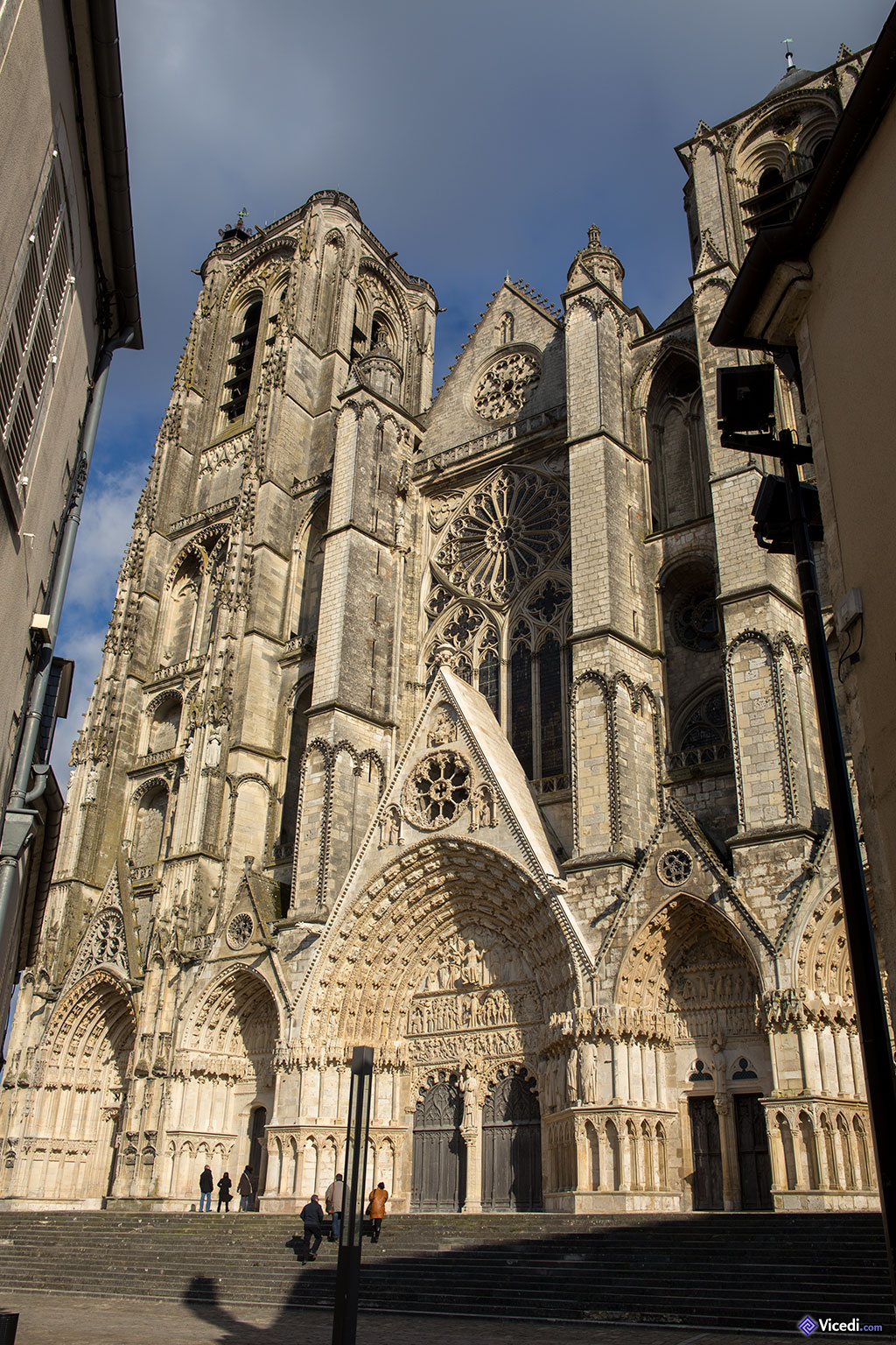cathédrale de bourges, histoire et photos du berry - vicedi