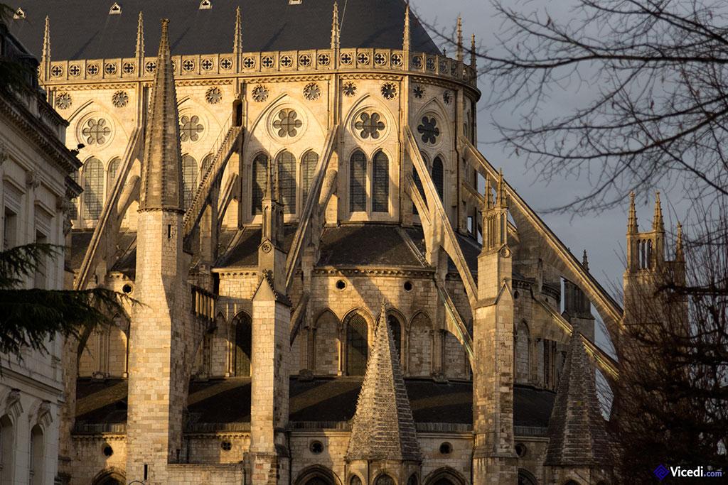 Abside : niveaux de la cathédrale
