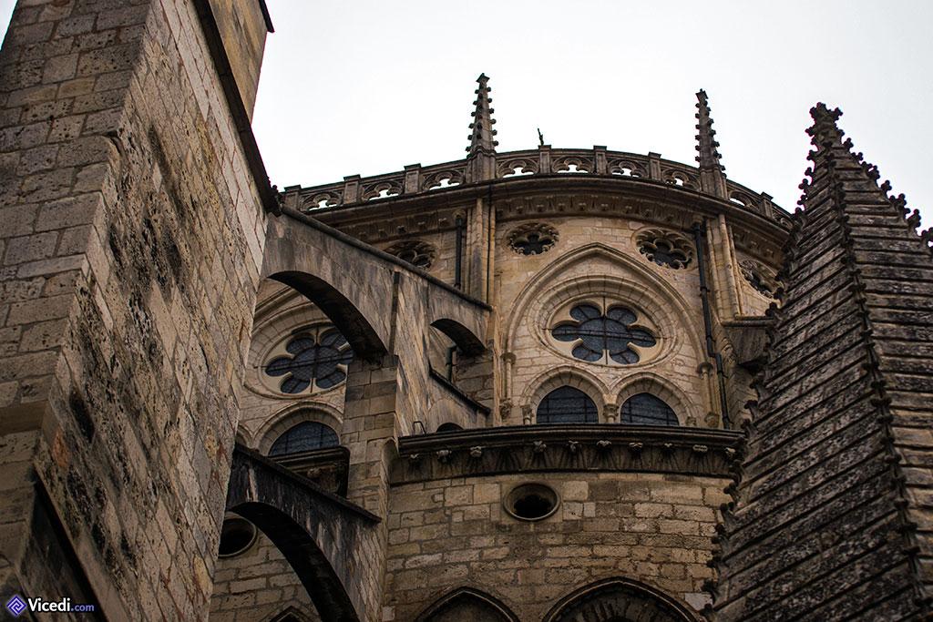 Détail du sommet de l'abside