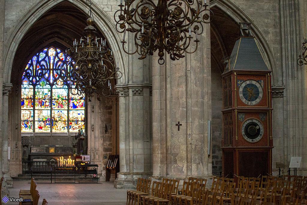 horloge et chapelle Coppin