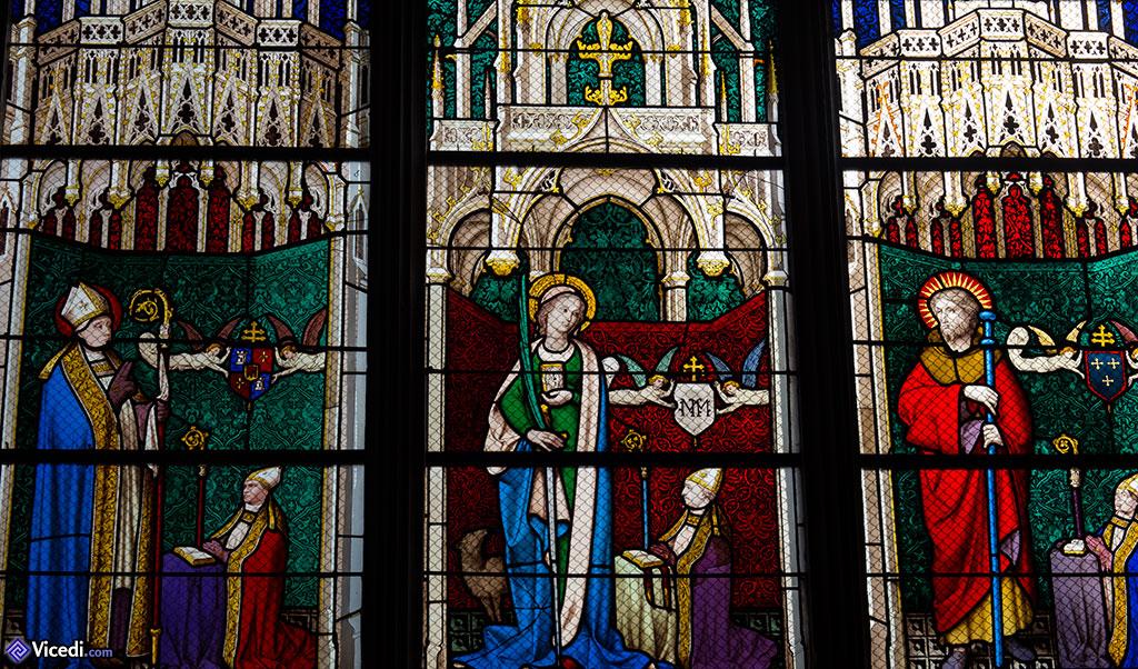 vitrail de sainte solange