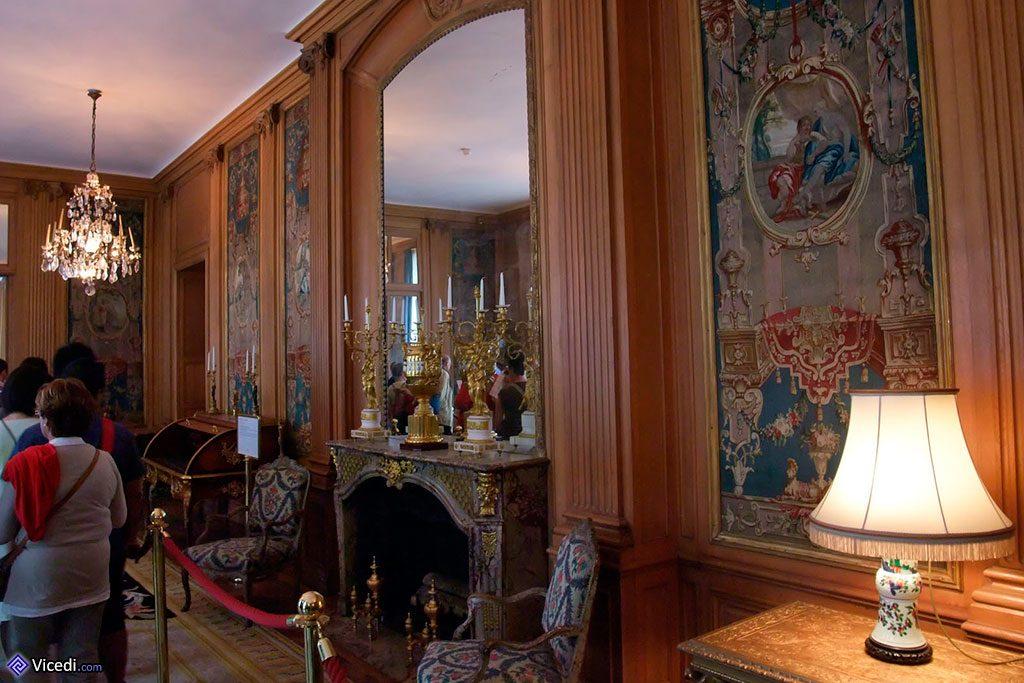 Un des salons du siège de la Banque de France