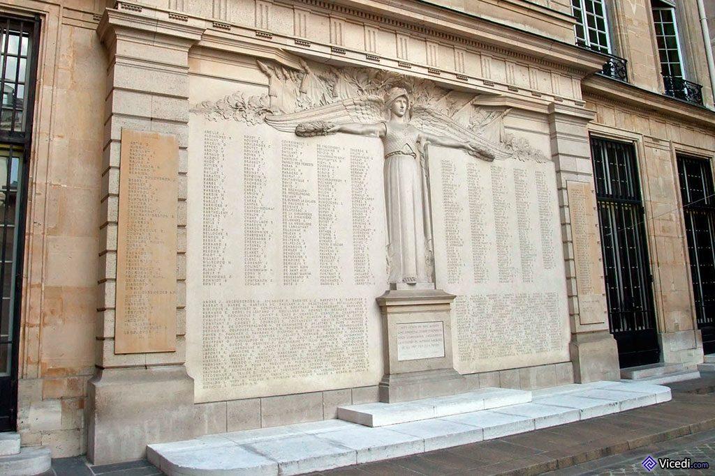 Liste des employés de la BdF, morts pour la France