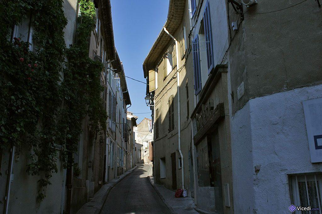 Rue étroite du Village