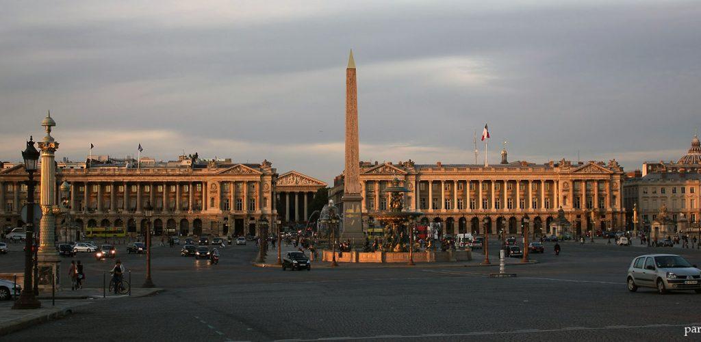 Place de la Concorde, patrimoine historique de Paris