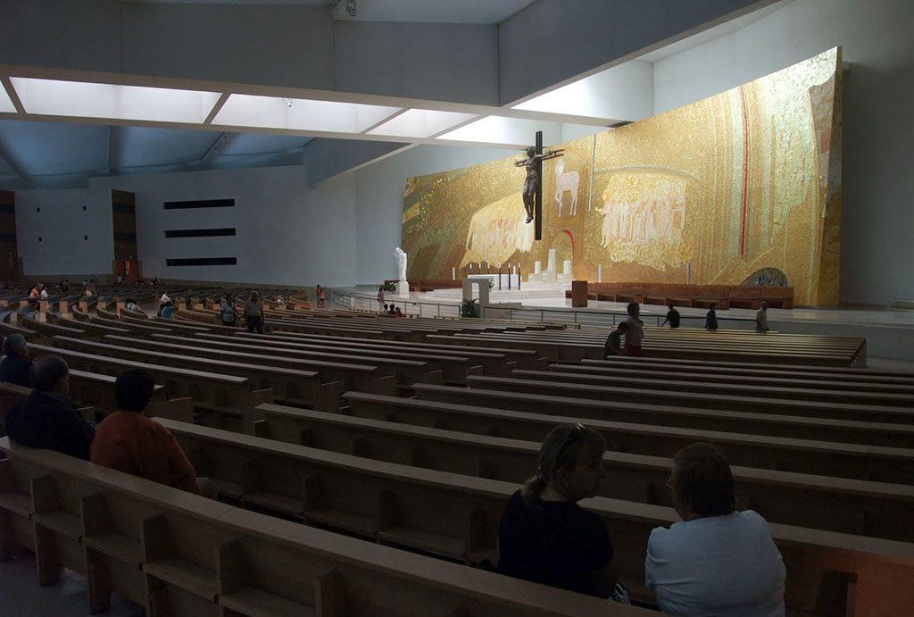 Intérieur de la Sainte Trinité