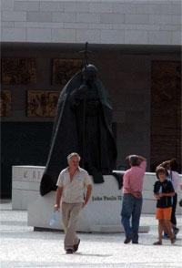 Statue de Jean Paul II