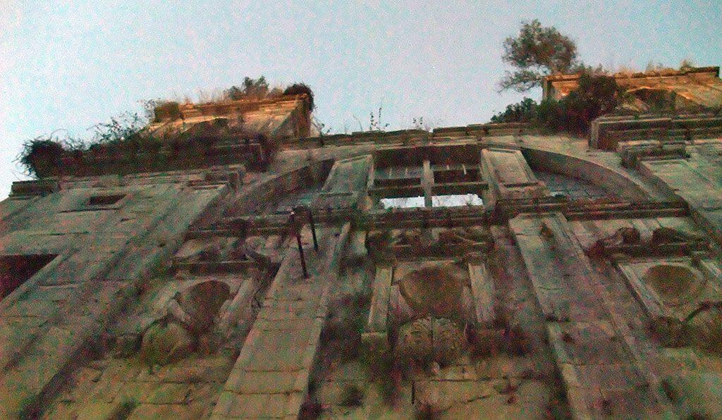 Façade du Monastère de Seiça