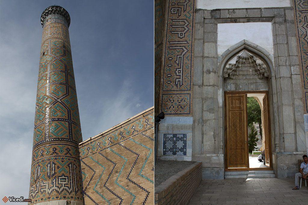 Entrée latérale de la mosquée