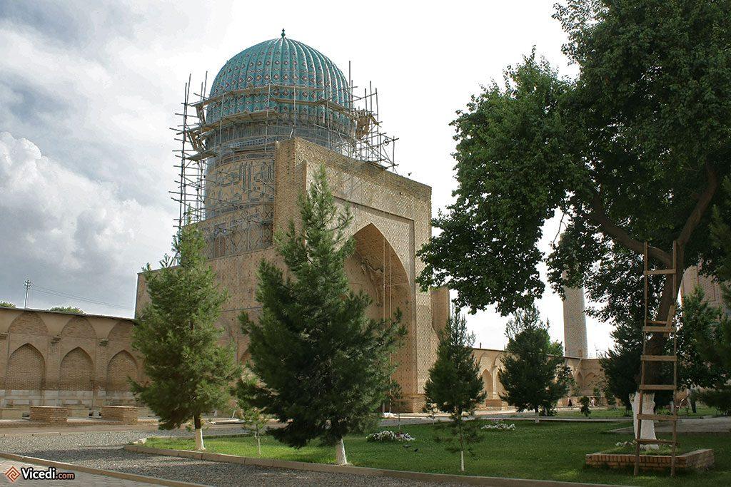 Restauration de Bibi Khanoum.