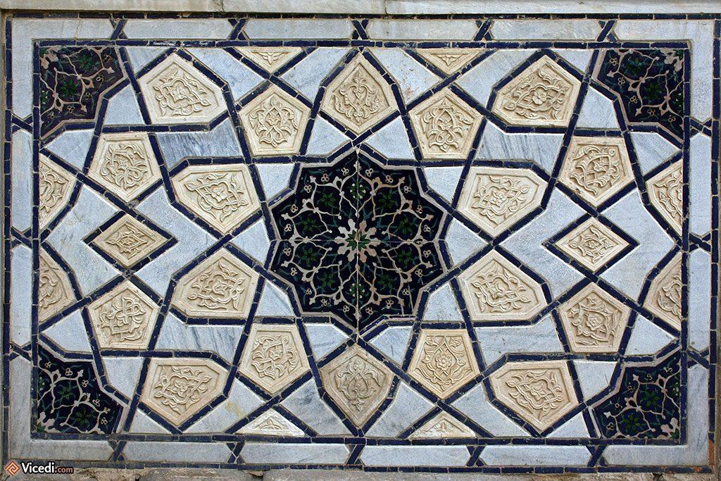 Décoration extérieure de la mosquée