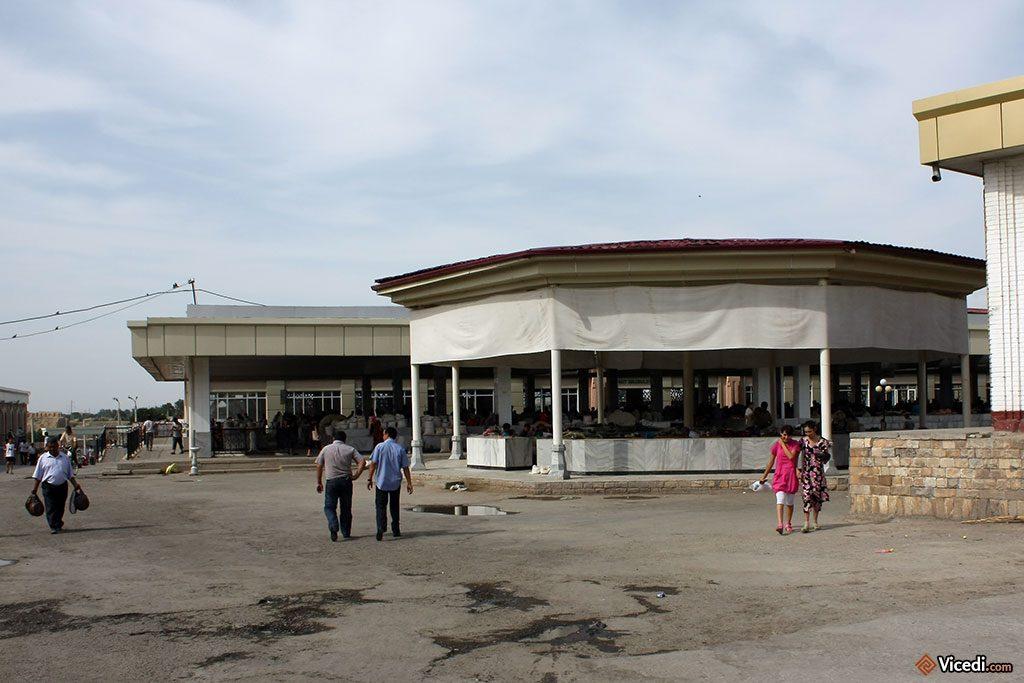 sections du bazar de Siab