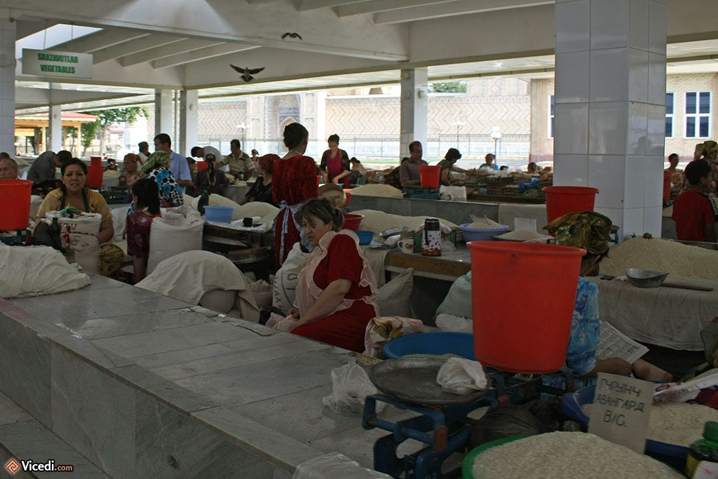 marché de Samarcande