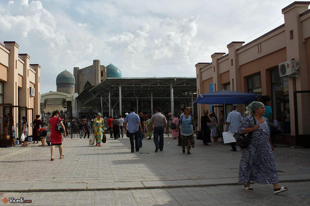 bibi khanoum et marché de Samarcande