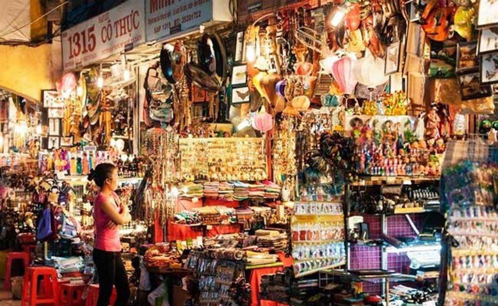 Faire ses courses à Saïgon