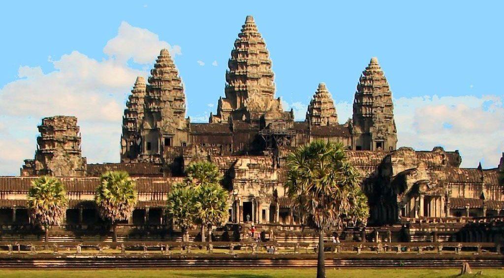 Le temple Angkor Wat