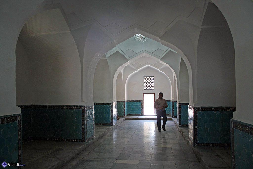 galeries du mausolée