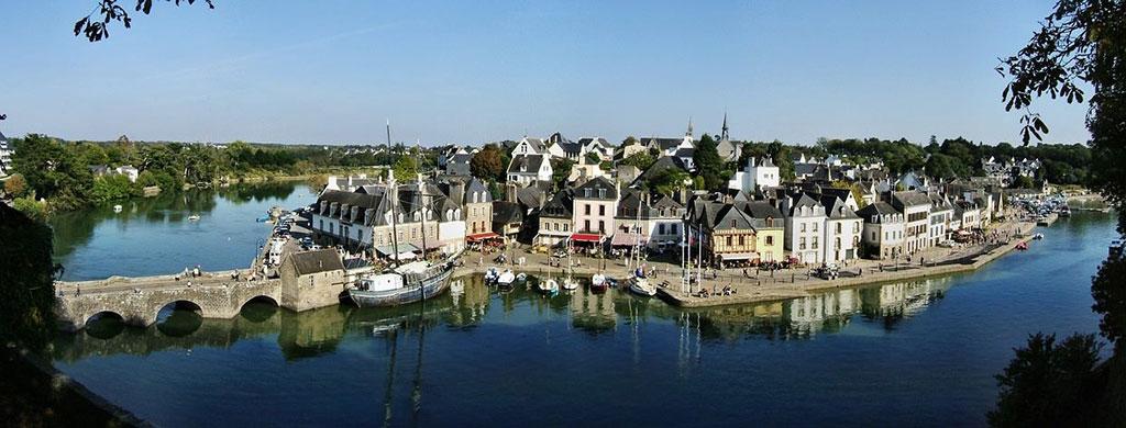 Auray et le port de Saint-Goustan
