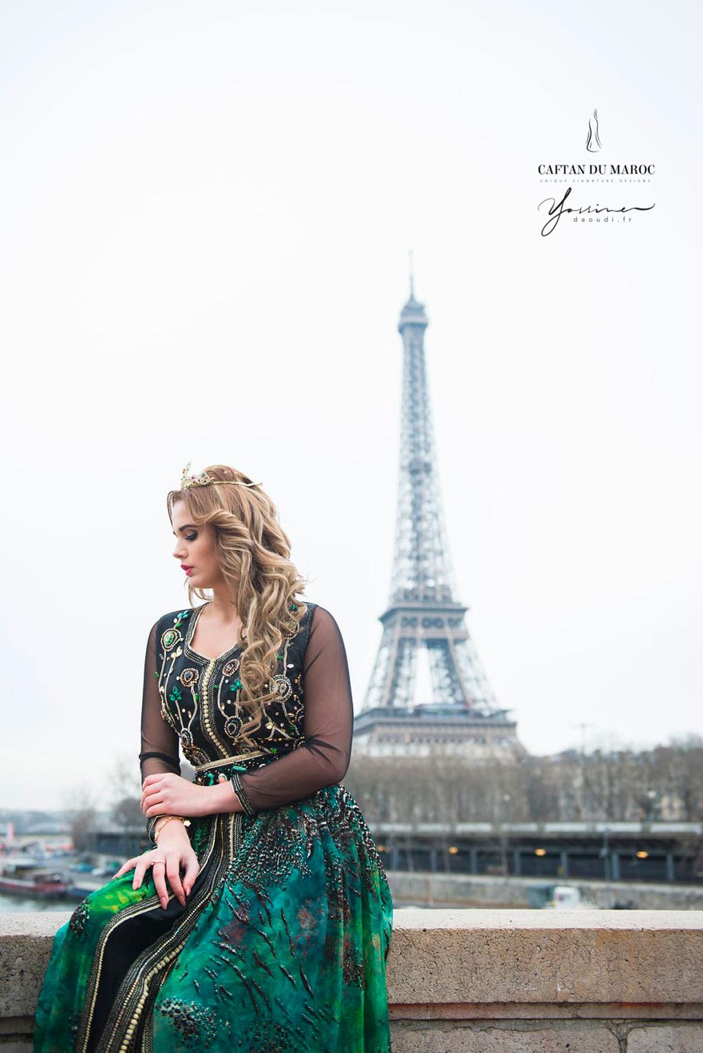 Caftan du Maroc à Paris