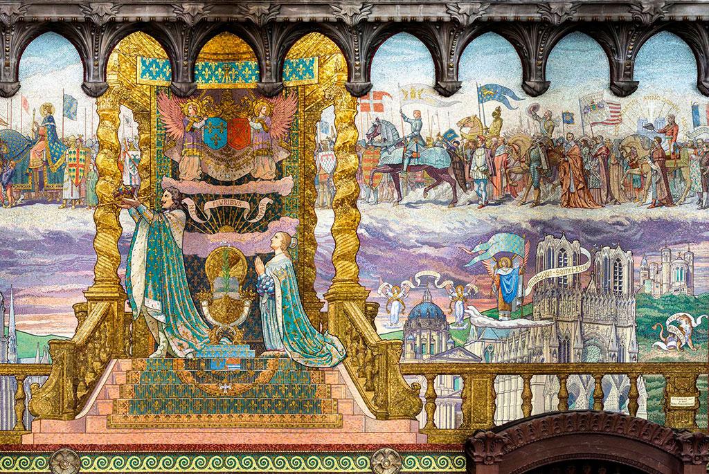 mosaïque de Fourvière